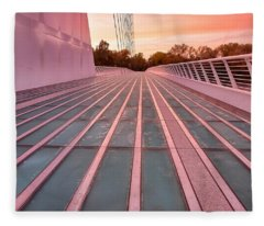 Sundial Bridge Fleece Blanket