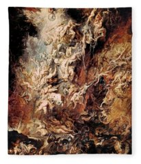 The Fall Of The Damned Fleece Blanket