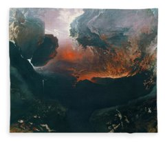 The Great Day Of His Wrath Fleece Blanket