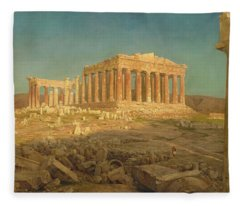 The Parthenon Fleece Blanket