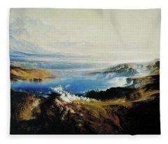The Plains Of Heaven Fleece Blanket