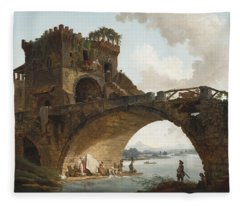 The Ponte Salario Fleece Blanket