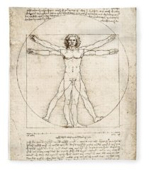 The Proportions Of The Human Figure Fleece Blanket