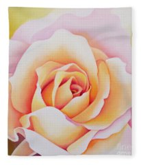 The Rose Fleece Blanket
