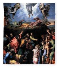 The Transfiguration Fleece Blanket