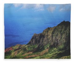 To The Ends Of The Earth Fleece Blanket