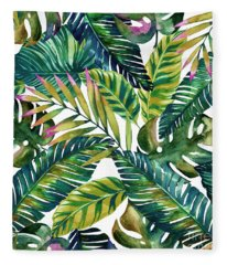 Tropical  Fleece Blanket