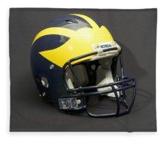 2000s Wolverine Helmet Fleece Blanket