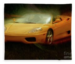 2003 Ferrari 360f1 Fleece Blanket
