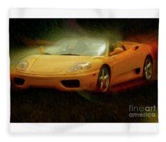 2003 Ferrari 360f1 Fleece Blanket