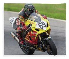 2005 Suzuki Big Kahuna Nationals - Danny Eslick Fleece Blanket