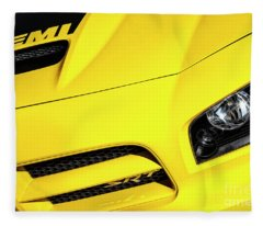 2009 Hemi Charger Srt Fleece Blanket