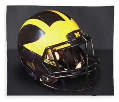 2010s Wolverine Helmet Fleece Blanket