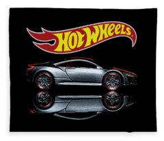 2012 Acura Nsx Fleece Blanket