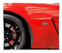 2013 Corvette Fleece Blanket