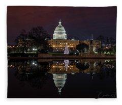 2017 Capitol Christmas Fleece Blanket