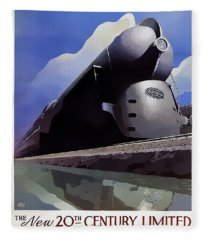 20th Century Limited Fleece Blanket