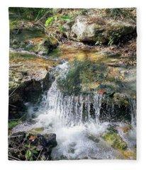 Mini Waterfall Fleece Blanket
