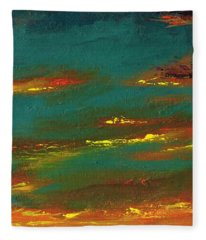 2nd In A Triptych Fleece Blanket