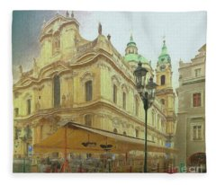 2nd Work Of St. Nicholas Church - Old Town Prague Fleece Blanket