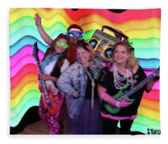 80's Dance Party At Sterling Event Center Fleece Blanket