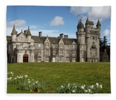 Balmoral Castle Fleece Blanket
