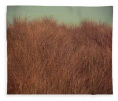 Beach Houses And Dunes Fleece Blanket