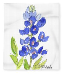 Bluebonnet Fleece Blanket