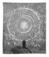 Dante Paradise Fleece Blanket