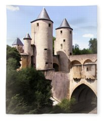 Germans Gate - Metz, France Fleece Blanket