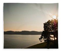 Lake Cumberland Sunset Fleece Blanket