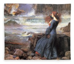 Miranda - The Tempest Fleece Blanket