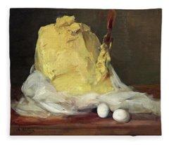 Mound Of Butter Fleece Blanket