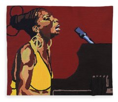 Nina Simone Fleece Blanket
