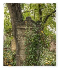 Old Jewish Cemetery Fleece Blanket