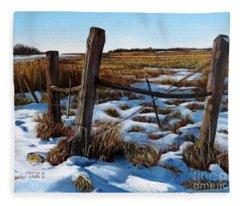 3 Old Posts 2  Fleece Blanket