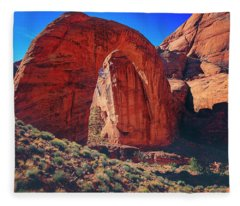Rainbow Bridge Monument Fleece Blanket