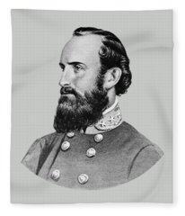 Stonewall Jackson - Six Fleece Blanket