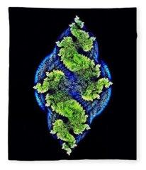 Tautological Fractals Fleece Blanket