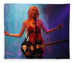 Taylor Momsen Fleece Blanket