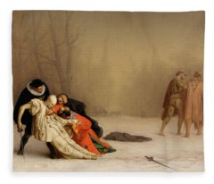 The Duel After The Masquerade Fleece Blanket
