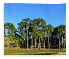 Tpc Sawgrass Fleece Blanket