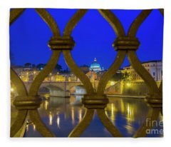 Fleece Blanket featuring the photograph Vatican City by Mats Silvan