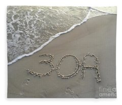 30a Beach Fleece Blanket