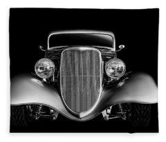 '33 Ford Hotrod Fleece Blanket