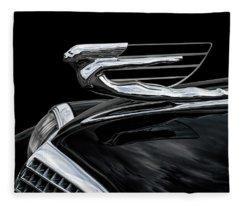 37 Cadillac Hood Angel Fleece Blanket