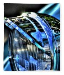 38 Ford Headlamp Fleece Blanket