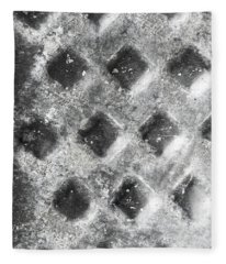Metal Background  Fleece Blanket