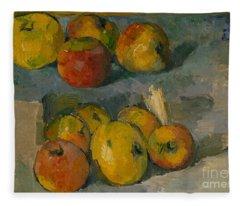 Apples Fleece Blanket