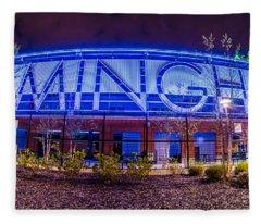 April 2015 - Birmingham Alabama Regions Field Minor League Baseb Fleece Blanket